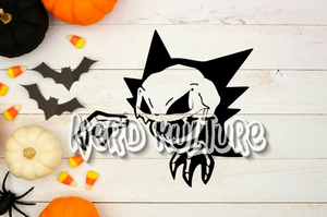 Haunter Skele SVG