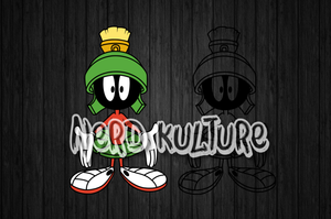 Marvin the Martian Full Color SVG