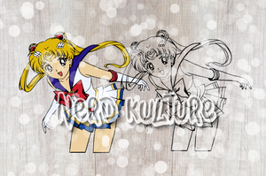 Sailor Moon Power Full Color SVG