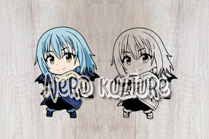 Chibi Rimuru Demon Lord Form SVG