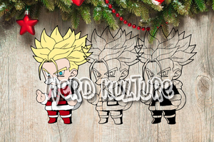 Christmas Trunks SVG