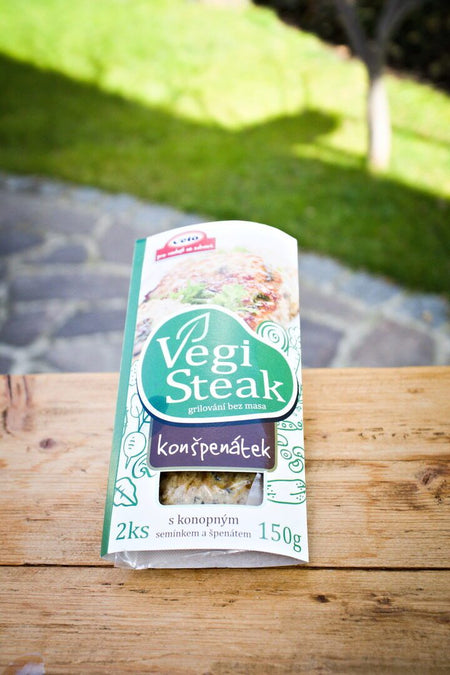 VegiSteak konšpenátek 150g