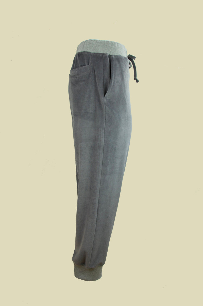 BILLY VELOUR SWEATPANTS GREY