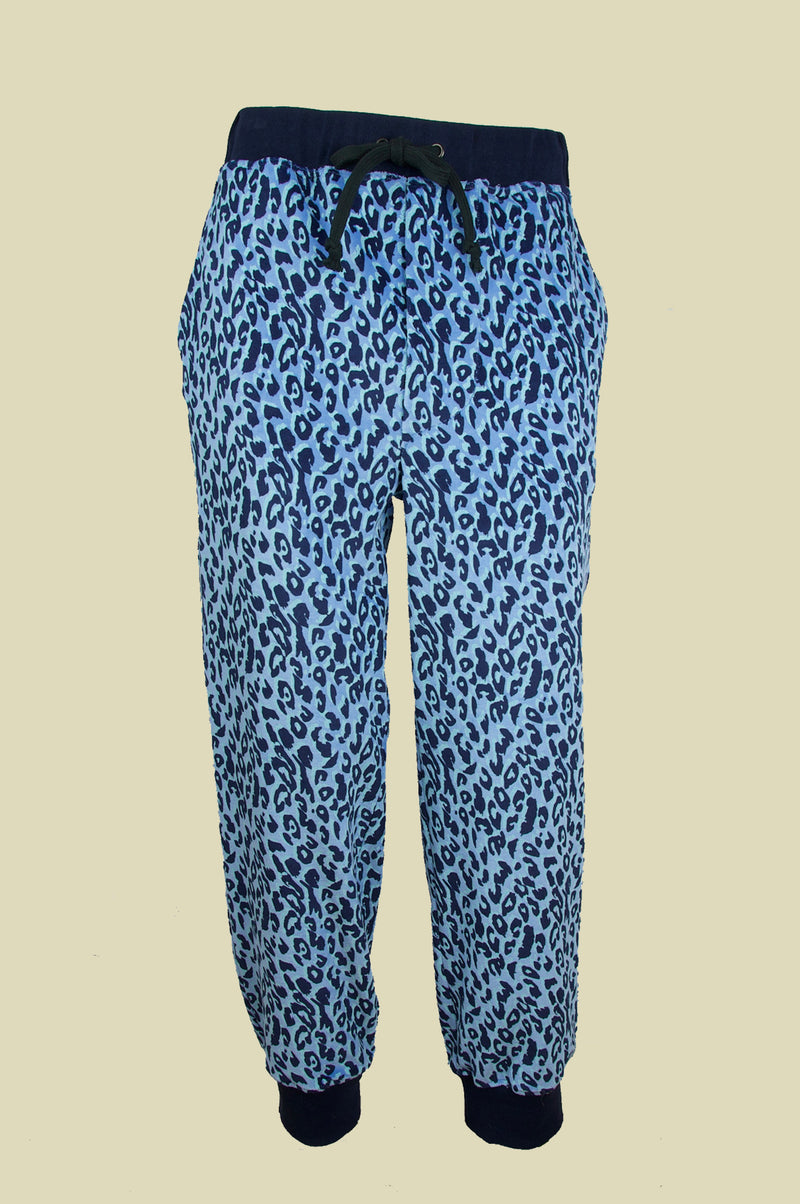 BILLY VELOUR SWEATPANTS BLUE