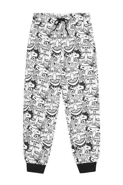 FIELD OF PONIES X GRIMJOB PRINT SWEATPANTS