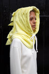 YELLOW FLEECE HOOD