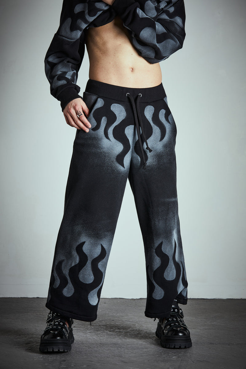 GHOST FLAMES SWEATPANTS