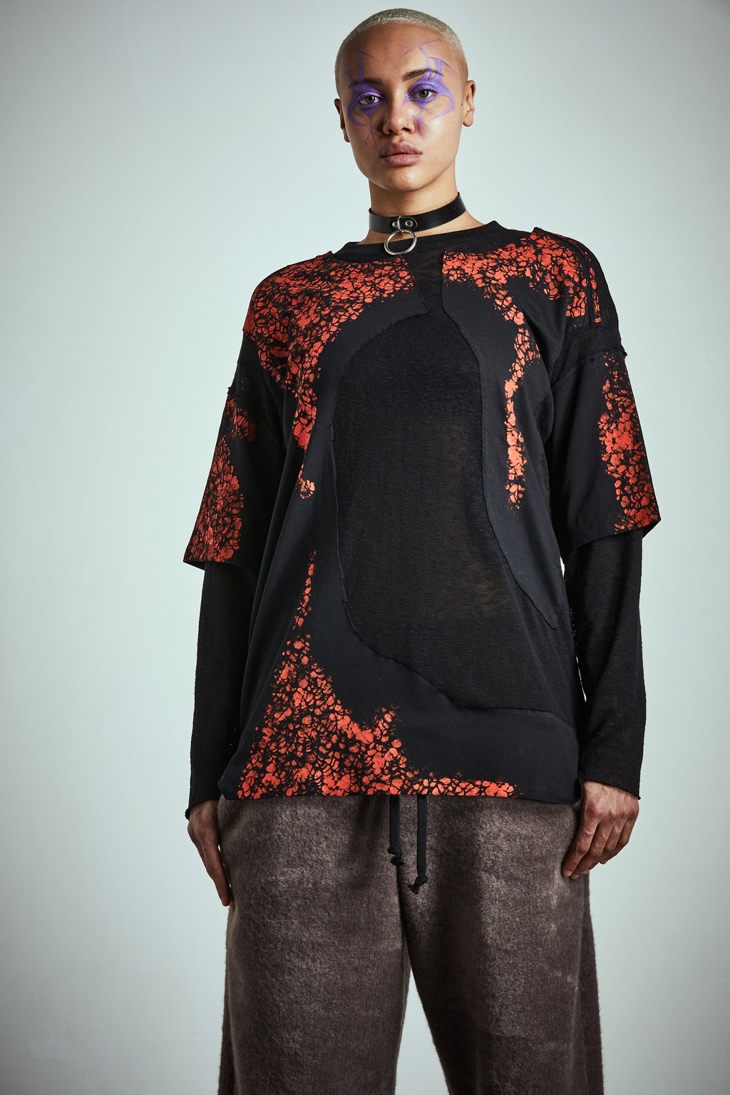 INFECTED LONG SLEEVES T-SHIRT