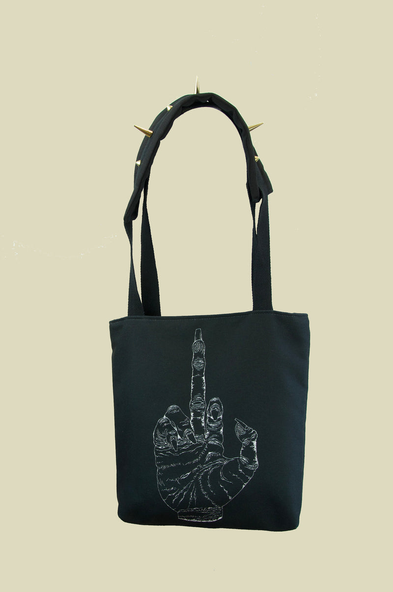 FINGER TOTE BAG