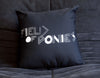 FIELD OF PONIES CUSHION