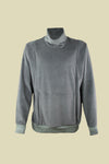 BILLY VELOUR TOP GREY
