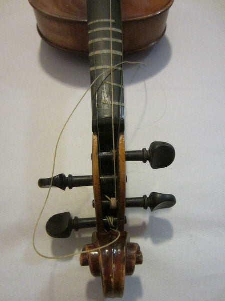 Violin Anton Becker Copie Antonius Stradivarius Germany - Designer Unique Finds   - 8