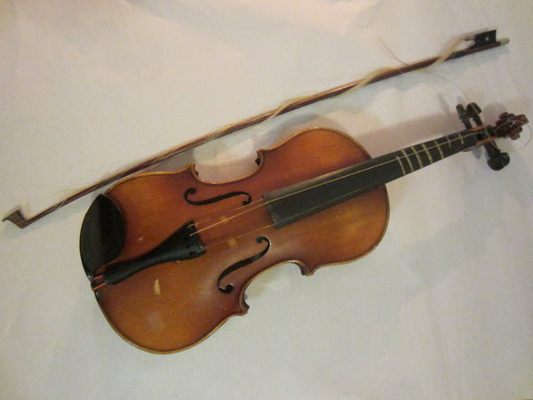 Violin Anton Becker Copie Antonius Stradivarius Germany - Designer Unique Finds   - 3