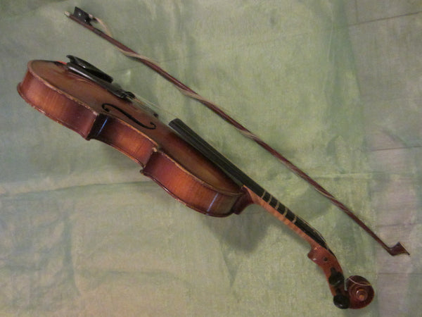 Violin Anton Becker Copie Antonius Stradivarius Germany - Designer Unique Finds   - 2