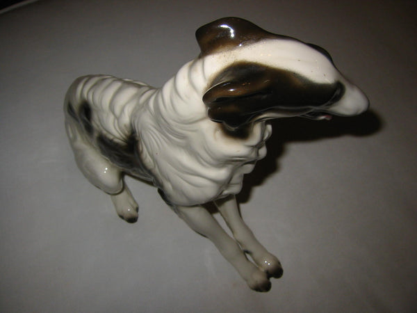 Cuernavaca Ceramic Seated Dog Hand Crafted Painted Signed By Artist - Designer Unique Finds   - 4