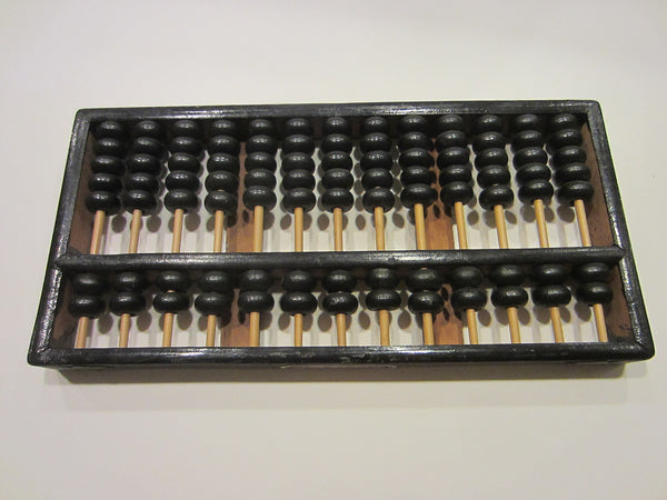 Classic Chinese Abacus With Makers Mark - Designer Unique Finds