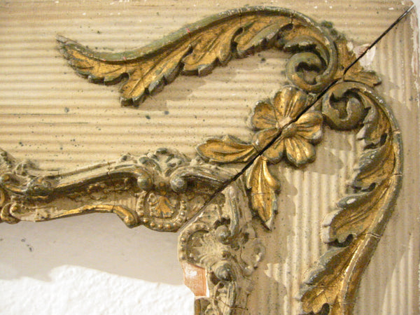 Baroque Style Ornamental Floral Gilt Textured Frame - Designer Unique Finds