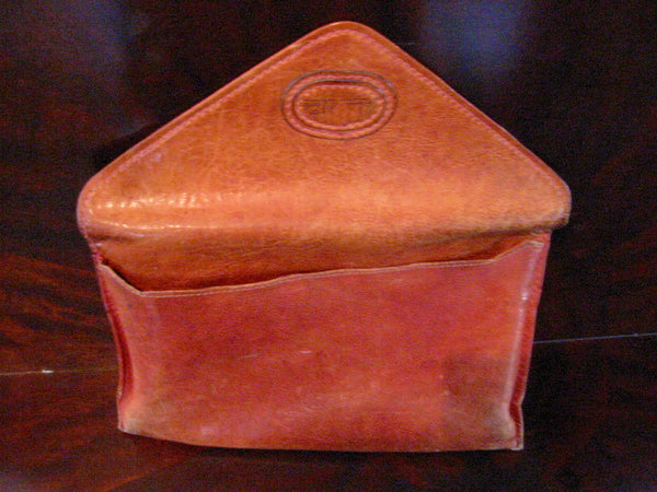 Red Leather Designer Envelope Clutch Hand Made In Italy - Designer Unique Finds   - 7