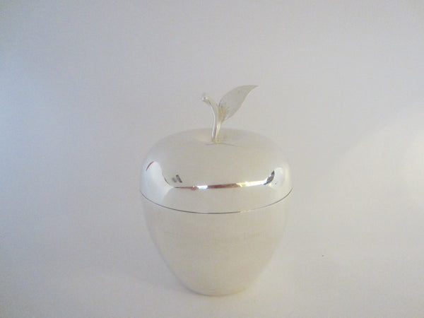 Tiffany And Co Silver Plated Apple Trophy Box - Designer Unique Finds