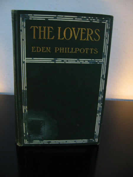 Eden Phillpotts The Lovers A Romance Illustrated Book - Designer Unique Finds   - 2
