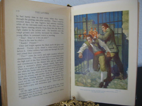 Eden Phillpotts The Lovers A Romance Illustrated Book - Designer Unique Finds   - 3