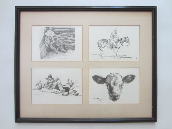 Robert Shoofly Shuflet Animated Western Signature Fly Seals Prints