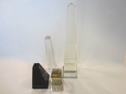 Art Glass Obelisks