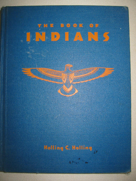 The Book of Indians Illustrated Hollings C Hollings - Designer Unique Finds