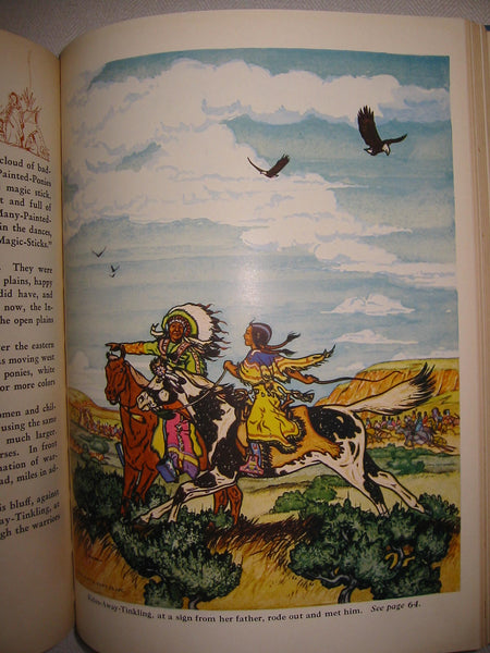 The Book of Indians Illustrated Hollings C Hollings