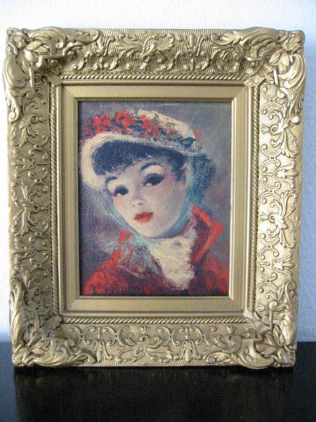 Huldah Lithograph Annette And Suzanne Portraits Limited Edition - Designer Unique Finds   - 5