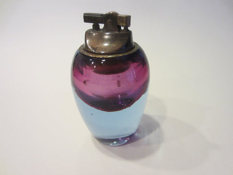 Alfredo Barbini Murano Glass Italy Table Lighter With Label - Designer Unique Finds