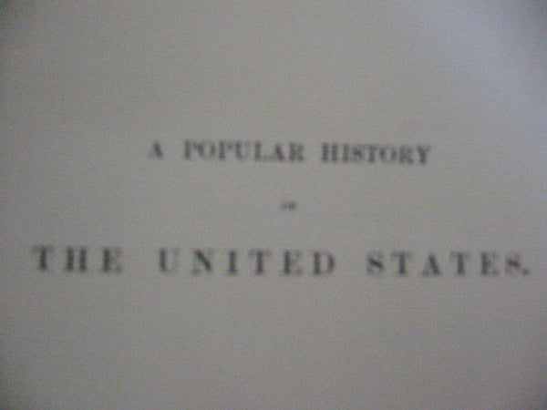Bryants Popular History of The United States 4 Volumes Books Leather Binding - Designer Unique Finds   - 5