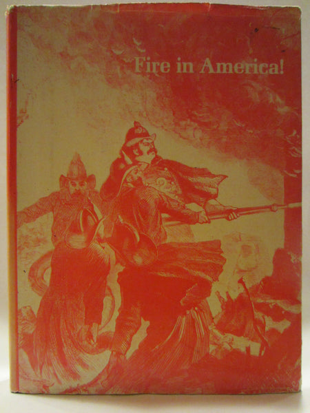 Fire in America By Paul Robert Lyons Illustrated First Edition Hard Copy Dust Jacket - Designer Unique Finds   - 3