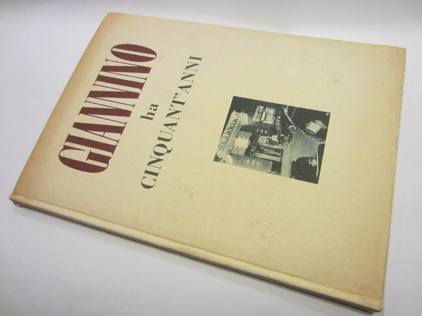 Giannino Ha Cinquant Anni Illustrated Italian LE Historic Restaurant Book - Designer Unique Finds   - 3