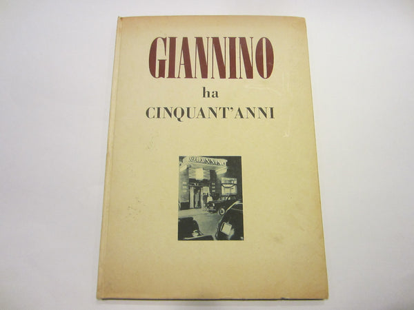 Giannino Ha Cinquant Anni Illustrated Italian LE Historic Restaurant Book - Designer Unique Finds   - 1