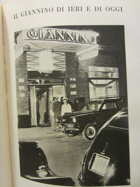 Giannino Ha Cinquant Anni Illustrated Italian LE Historic Restaurant Book - Designer Unique Finds   - 11