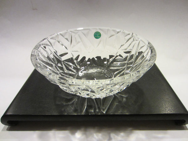 Tiffany & Co Crystal Bowl Made In Germany W Label And Stamp - Designer Unique Finds   - 2