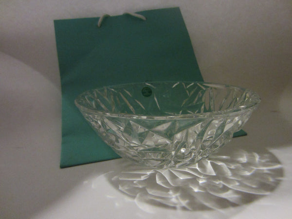 Tiffany & Co Crystal Bowl Made In Germany W Label And Stamp - Designer Unique Finds   - 6