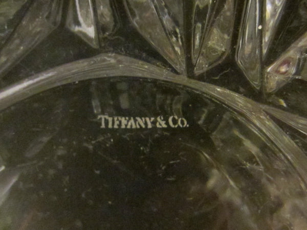 Tiffany & Co Crystal Bowl Made In Germany W Label And Stamp - Designer Unique Finds   - 5