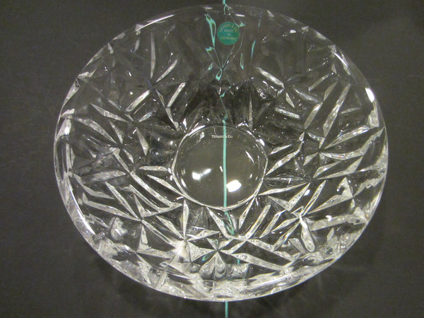 Tiffany & Co Crystal Bowl Made In Germany W Label And Stamp - Designer Unique Finds   - 7
