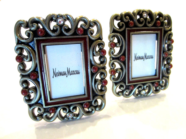 Jay Strongwater Exclusive Neiman Marcus Miniature Photo Frames