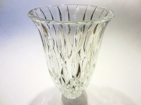 Waterford Marquis Crystal Flower Vase Geometric Modern