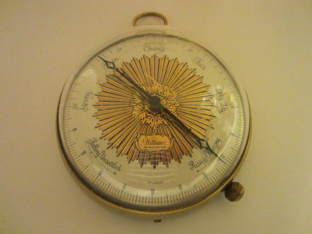 Wittnauer Barometer Weather Station Nautical Wall Decor - Designer Unique Finds   - 1