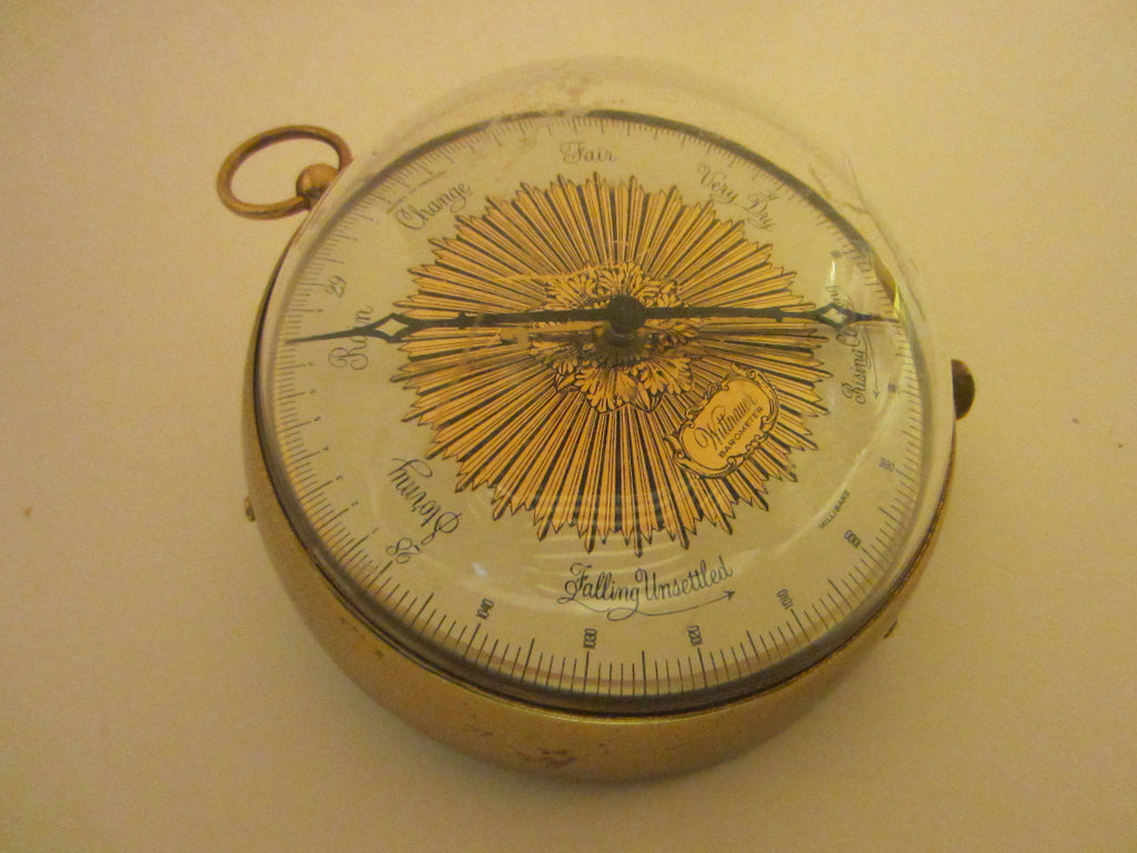 Wittnauer Barometer Weather Station Nautical Wall Decor – Designer ...