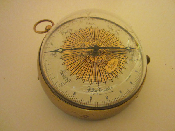 Wittnauer Barometer Weather Station Nautical Wall Decor - Designer Unique Finds   - 3