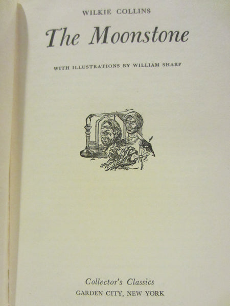 Wilkie Collins The Moonstone Illustrated By William Sharp - Designer Unique Finds   - 3