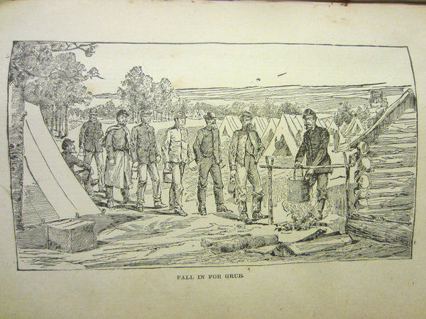 Camp Fire Chats of The Civil War Illustrated Historic Book By Washington Davis - Designer Unique Finds   - 11