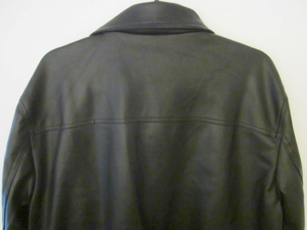 A Collezioni Black Coat Made in Italy Size M NWT - Designer Unique Finds