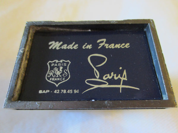 Paris Arc de Triomphe Miniature Souvenir Inscribed Made In France - Designer Unique Finds   - 4