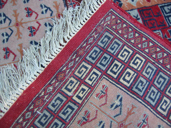 Torkemen Rug Northern Persia Pile of Wool Tribal Art - Designer Unique Finds   - 2
